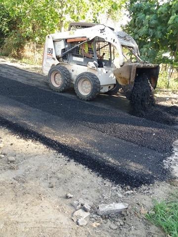 Σε εξέλιξη έργα αποκατάστασης του οδικού δικτύου στον Λαγκαδά (φωτό) , φωτογραφία-2